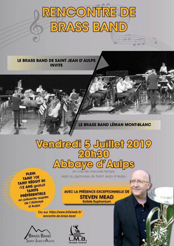 Concert du Brass Band avec Steven Meal